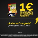 descuento mccain, cupones descuento, descuento