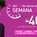 seman de la moda, rebajas, descuentos moda, descuentos la redoute, rebajas la redoute