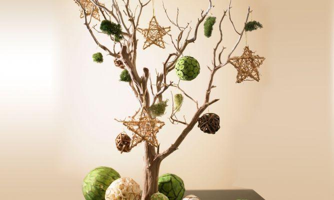 C mo hacer un arreglo o decoraci n con ramas secas - Adornos flores secas ...