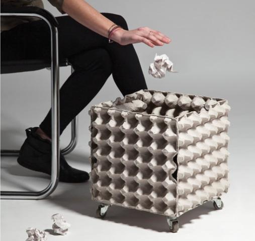 Marcos De Espejos Decorados Con Cajas De Huevos