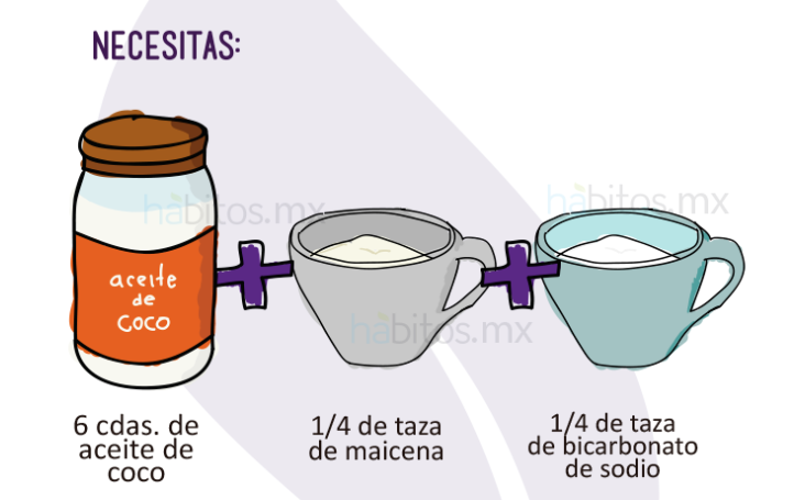 desodorante natural aceite de coco y bicarbonato