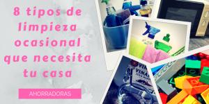 8 tipos de limpieza ocasional que necesita tu casa