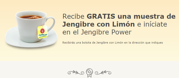 free samples infusiones