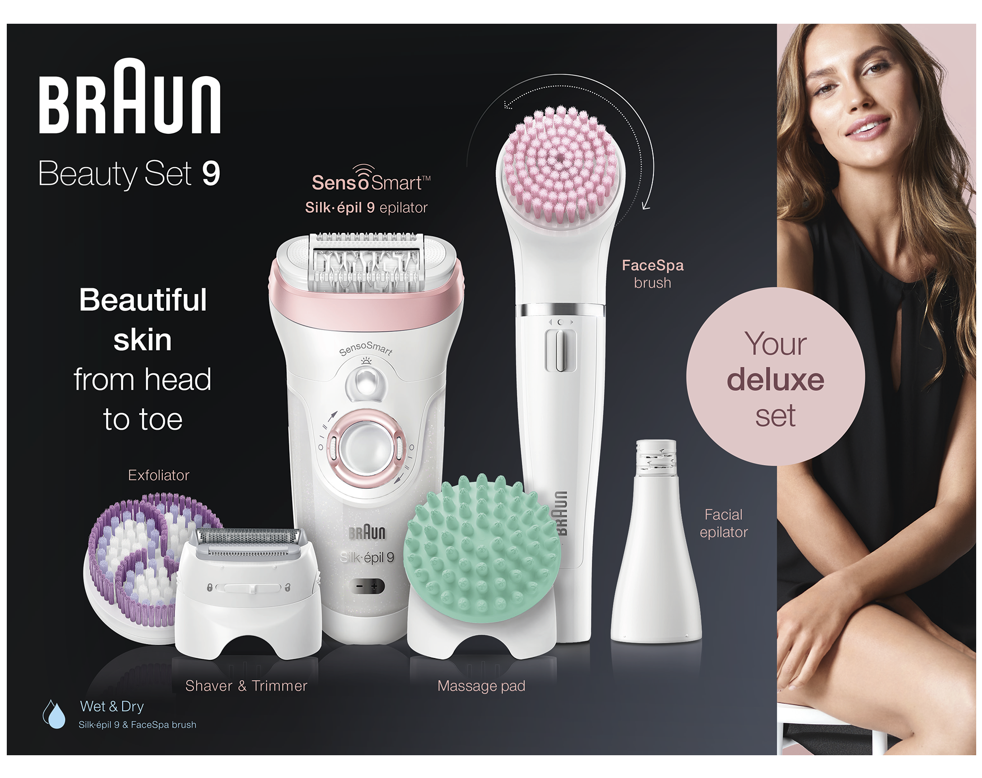Braun beauty set 9